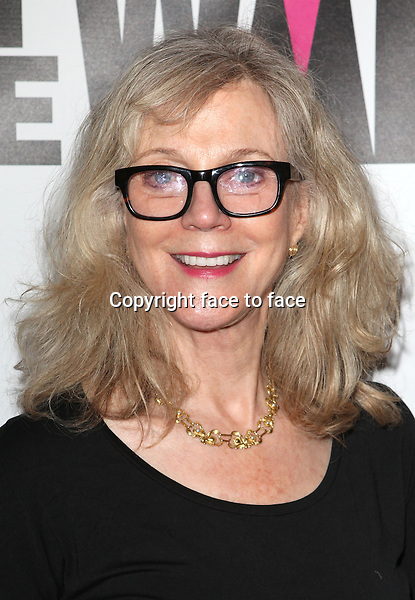 "Blythe Danner attending the New York Premiere of the Opening Night Performance of ""Hit The Wall"" at the Barrow Street Theatre in New York City on 3/10/2013...Credit: McBride/face to face"