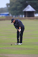 Shane Lowry (IRL) on the 12th fairway during Round 1of the Sky Sports British Masters at Walton Heath Golf Club in Tadworth, Surrey, England on Thursday 11th Oct 2018.<br /> Picture:  Thos Caffrey | Golffile<br /> <br /> All photo usage must carry mandatory copyright credit (© Golffile | Thos Caffrey)