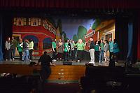 Hello Dolly Rehearsals at Neshaminy High School