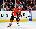 DUNCAN KEITH,  of the Chicago Blackhawks in action  during the Blackhawks game against the Colorado Avalanche at the United Center in Chicago, IL.  The Colorado Avalanche beat the Chicago Blackhawks 4-3 in Chicago, Illinois on December 15, 2010....