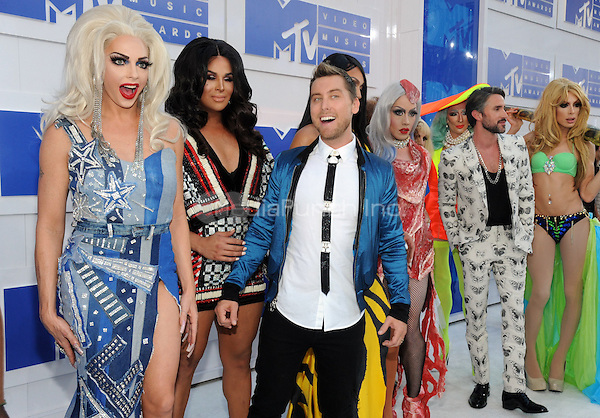 NEW YORK, NY - AUGUST 28:Lance Bass attend the 2016 MTV Video Music Awards at Madison Square Garden on August 28, 2016 in New York City Credit John Palmer / MediaPunch