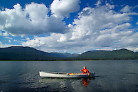 Wells Gray Provincial Park, British Columbia, Canada, August 2006. Murtle lake is a great canoeing and fishing destination with many campsites. Trekking the backcountry of Wells Gray requires expert outdoor skills or a good guide, as one will enter a wilderness area with mountains, lakes and forests. Photo by Frits Meyst/Adventure4ever.com