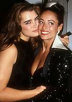 Brooke Shields Sonia Braga 1991<br /> Photo By John BarrettPHOTOlink.net