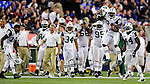 3 December 2009: New York Jets' cornerback Darrelle Revis (24) celebrates an interception against the Buffalo Bills at the Rogers Centre in Toronto, Ontario, Canada. The Jets defeated the Bills 19-13. Mandatory Credit: Ed Wolfstein Photo