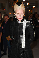 Daphne Guinness<br /> at the Jasper Conran SS18 Show as part of London Fashion Week, London<br /> <br /> <br /> ©Ash Knotek  D3308  16/09/2017