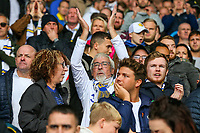 Leeds United fans applaud their team after the match<br /> <br /> Photographer Alex Dodd/CameraSport<br /> <br /> The EFL Sky Bet Championship - Leeds United v Brentford - Saturday 6th October 2018 - Elland Road - Leeds<br /> <br /> World Copyright &copy; 2018 CameraSport. All rights reserved. 43 Linden Ave. Countesthorpe. Leicester. England. LE8 5PG - Tel: +44 (0) 116 277 4147 - admin@camerasport.com - www.camerasport.com