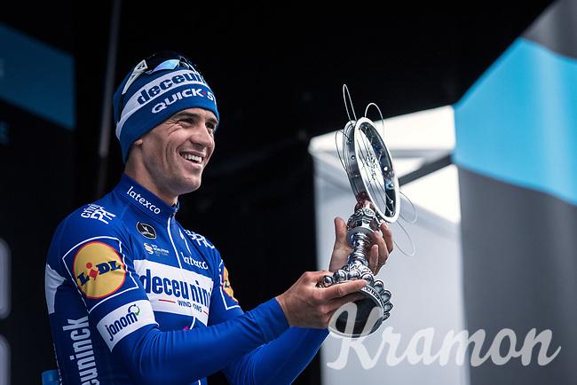 Zdenek Stybar (CZE/Deceuninck-Quick Step) wins the 74th Omloop Het Nieuwsblad 2019 (BEL)<br /> <br /> <br /> 74th Omloop Het Nieuwsblad 2019 (BEL)<br /> Gent – Ninove: 200km<br /> ©kramon