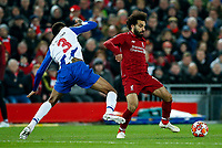 Eder Militao of FC Porto and Mohamed Salah of Liverpool during the UEFA Champions League Quarter Final first leg match between Liverpool and Porto at Anfield on April 9th 2019 in Liverpool, England. (Photo by Daniel Chesterton/phcimages.com)<br /> Foto PHC/Insidefoto <br /> ITALY ONLY