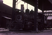 3/4 fireman's-side view of D&amp;RGW #463 parked behind the Alamosa unwheeling hoist.<br /> D&amp;RGW  Alamosa, CO