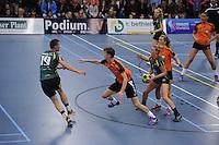 KORFBAL: GORREDIJK: 15-10-2015, LDODK - TEAM NEDERLAND, Erwin Zwart rechts voor, ©foto Martin de Jong