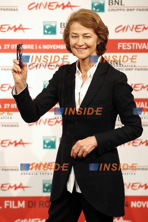"Charlotte RAMPLING.""The eye of the Storm"".Roma 30/10/2011 Auditorium.Festival Internazionale del Film di Roma.Foto Andrea Staccioli Insidefoto"