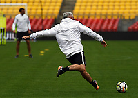 Assistant coach Darren Bazeley. All Whites training for 2018 FIFA World Cup Russia qualifier against Peru at Westpac Stadium in Wellington, New Zealand on Friday, 10 November 2017. Photo: Dave Lintott / lintottphoto.co.nz