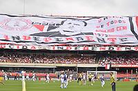 ATENÇÃO EDITOR: FOTO EMBARGADA PARA VEÍCULOS INTERNACIONAIS - SÃO PAULO, SP, 04 DE NOVEMBRO DE 2012 - CAMPEONATO BRASILEIRO - SÃO PAULO x FLUMINENSE: Torcida do São Paulo durante partida São Paulo x Fluminense válida pela 34ª rodada do Campeonato Brasileiro de 2012 no Estádio do Morumbi. FOTO: LEVI BIANCO - BRAZIL PHOTO PRESS