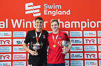 Picture by Allan McKenzie/SWpix.com - 14/12/2017 - Swimming -Swim England Winter Champs - Ponds Forge International Sports Centre - Sheffield, England - & William Bell & Joe Litchfield with golds.