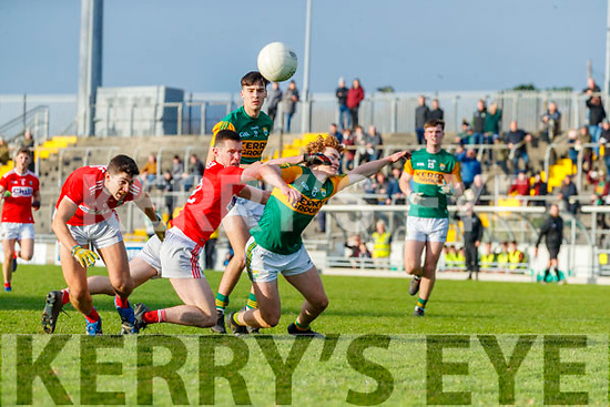 Paul Walsh, Kerry in action against Maurice Shanley, Cork during the 2020 McGrath Cup Group B match between Kerry and Cork at Austin Stack Park in Tralee, Kerry.