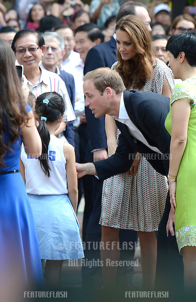 Catherine, Duchess of Cambridge and Prince William attend the British High Commission Reception in Singapore on the first day of the Royal tour of South East Asia and the South Pacific., Singapore. .September 12, 2012 .Pictures: CatchlightMedia / Featureflash