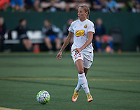 Seattle, WA - Saturday July 16, 2016: Courtney Niemiec during a regular season National Women's Soccer League (NWSL) match between the Seattle Reign FC and the Western New York Flash at Memorial Stadium.