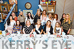 Yvonne Flavin (seated front centre) from Ashgrove enjoying her baby shower with her friends in Benners Hotel on Saturday night.