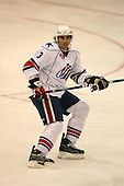 March 13, 2009:  Defenseman Jason Garrison (3) of the Rochester Amerks, AHL affiliate of the Florida Panthers, in the second period during a game at the Blue Cross Arena in Rochester, NY.  Toronto defeated Rochester 4-2.  Photo copyright Mike Janes Photography 2009
