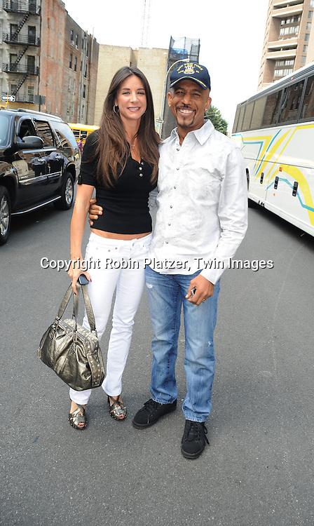 Tara and Montel Williams