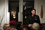 attends the Dramatists Guild Fund Salon with Matthew Sklar and Chad Beguelin at the home of Gretchen Cryer on December 8, 2016 in New York City.