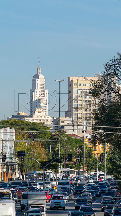 Vista da Avenida Tiradentes, São Paulo - SP, 06/2016.