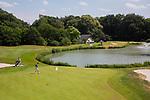 GROESBEEK - Groesbeekse Baan Oost hole 1.  Golfbaan Het Rijk van Nijmegen. COPYRIGHT  KOEN SUYK