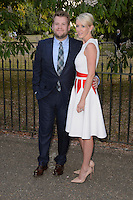 James Cordon &amp; Julia Cordon at The Serpentine Gallery Summer Party 2015 at The Serpentine Gallery, London.<br /> July 2, 2015  London, UK<br /> Picture: Dave Norton / Featureflash