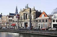 Nederland Haarlem 2016. Het Teylers Museum aan het Spaarne. Foto Berlinda van Dam / Hollandse hoogte