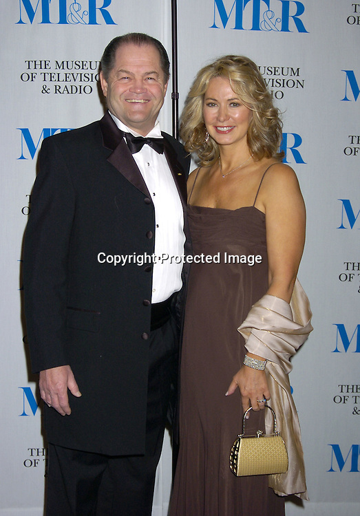 Micky Dolenz and wife Donna..at The Museum of TV and Radio New York Gala  honoring  Merv Griffin on May 26, 2005 at The Waldorf Astoria Hotel...Photo by Robin Platzer, Twin Images