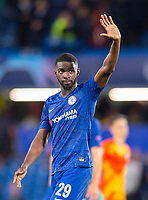 Chelsea's Fikayo Tomori after the UEFA Champions League match between Chelsea and Valencia  at Stamford Bridge, London, England on 17 September 2019. Photo by Andrew Aleksiejczuk / PRiME Media Images.