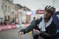 Jonas van Genechten (BEL/IAM) after finishing<br /> <br /> 12th Eneco Tour 2016 (UCI World Tour)<br /> Stage 7: Bornem › Geraardsbergen (198km)