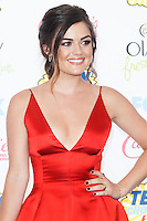 LOS ANGELES, CA, USA - AUGUST 10: Lucy Hale arrives at the Teen Choice Awards 2014 held at The Shrine Auditorium on August 10, 2014 in Los Angeles, California, United States. (Photo by Celebrity Monitor)