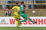 11.01.2019, Bidvest Stadion, Braampark, Johannesburg, RSA, FSP, SV Werder Bremen (GER) vs Bidvest Wits FC (ZA)<br /> <br /> im Bild / picture shows <br /> Stuart Ricardo Goss (Bidvest Wits FC #23) im Duell / im Zweikampf mit Martin Harnik (Werder Bremen #09), <br /> <br /> Foto © nordphoto / Ewert