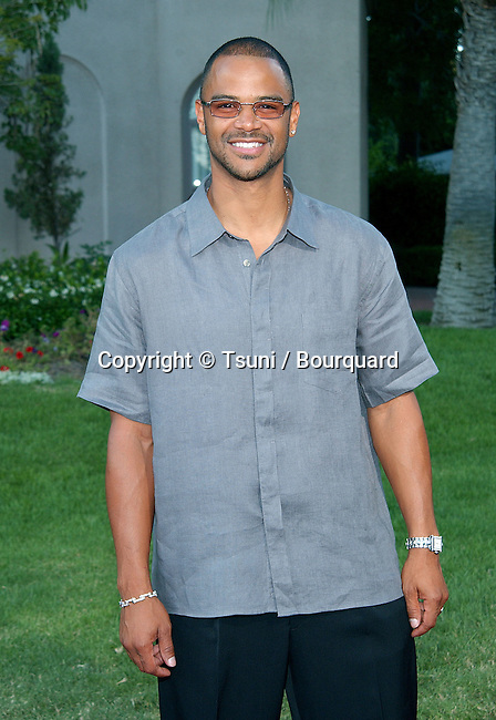 Dondre T. Whitfield (Hidden Hills) arriving at the All-Star Party for the new season of NBC at the Ritz Carlton in Pasadena, Los Angeles. July 24, 2002.           -            WhithfieldDondreT_HiddenH02.jpg