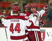 Tommy O'Regan (Harvard - 13), Brian Hart (Harvard - 39) - The Harvard University Crimson defeated the visiting Rensselaer Polytechnic Institute Engineers 4-0 (EN) on Saturday, November 10, 2012, at Bright Hockey Center in Boston, Massachusetts.