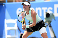 Washington, DC - August 4, 2019: Jessica Pegula (USA) waits for the serve against Camila Giorgi (ITA)  NOT PICTURED during the WTA Citi Open Woman's Finals at Rock Creek Tennis Center, in Washington D.C. (Photo by Philip Peters/Media Images International)