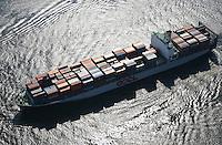 Deutschland, Hamburg, Containerschiff, OOCL, Elbe