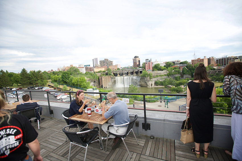 Rochester, NY - June 23, 2016: Genesee Brew House, the brewery, restaurant and tasting room for North American Breweries.<br /> <br /> CREDIT: Clay Williams.<br /> <br /> &copy; Clay Williams / claywilliamsphoto.com