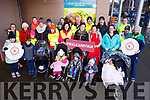Attending the Garvey Supervalu store in Castleisland on their Operation Transformation walk on Saturday morning last.