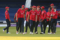 Disappointment for the Essex players after the third umpire turns down their appeals for a catch to dismiss Samit Patel during Essex Eagles vs Notts Outlaws, Royal London One-Day Cup Semi-Final Cricket at The Cloudfm County Ground on 16th June 2017