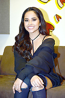 MIAMI, FL - FEBRUARY 22: Recording artist / Actress Becky G pictured during a press call promoting her new movie  'Power Rangers' and her upcoming March release of her first Spanish single 'Sola' on February 22, 2017 in Miami, Florida. Credit: MPI10 / MediaPunch
