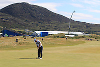 Cian McNamara (IRL) on the 10th green during Round 2 of the Dubai Duty Free Irish Open at Ballyliffin Golf Club, Donegal on Friday 6th July 2018.<br /> Picture:  Thos Caffrey / Golffile