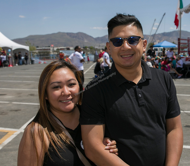 Jay and David during the Cinco de Mayo Festival at the Grand Sierra Resort in Reno on Saturday, May 4, 2019.