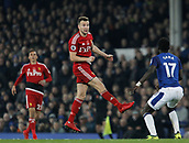 5th November 2017, Goodison Park, Liverpool, England; EPL Premier League Football, Everton versus Watford; Former Everton player Tom Cleverley who missed a penalty in added time