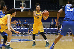 08 November 2015: Saint Leo's Aaliyah Ramirez. The Duke University Blue Devils hosted the Saint Leo University Lions at Cameron Indoor Stadium in Durham, North Carolina in a 2015-16 NCAA Women's Basketball Exhibition game. Duke won the game 116-33.