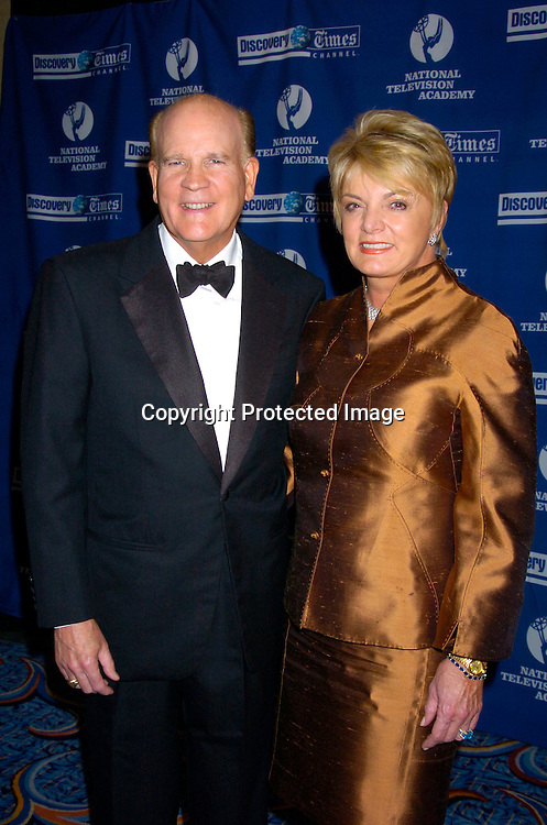 Bob Wright and wife Suzanne Wright..at The 25th Annual News and Documentary Emmy Awards Ceremony on Sept 13, 2004. ..Photo by Robin Platzer, Twin Images