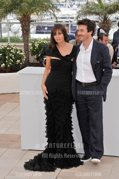 """Monica Bellucci & Alessio Boni at photocall for her new movie """"Sanguepazzo - Une Histoire Italienne"""" at the 61st Annual International Film Festival de Cannes..May 19, 2008  Cannes, France..Picture: Paul Smith / Featureflash"""