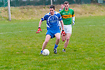 Moyvane V Renard: Renard's Kenneth Casey gets to the ball first from Moyvane's Con Mulvihill.