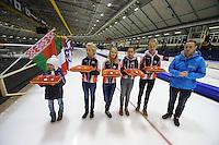 SCHAATSEN: HEERENVEEN: IJsstadion Thialf, 30/31-01-15, Viking Race, Internationaal Jeugdtoernooi 11-16 jaar, ©foto Martin de Jong